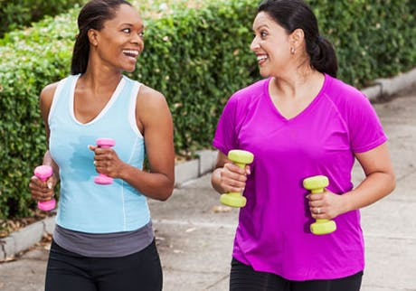 Exercise for healthy bones
