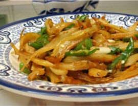 高鈣食譜 – 香炒亞麻籽豆腐銀魚
