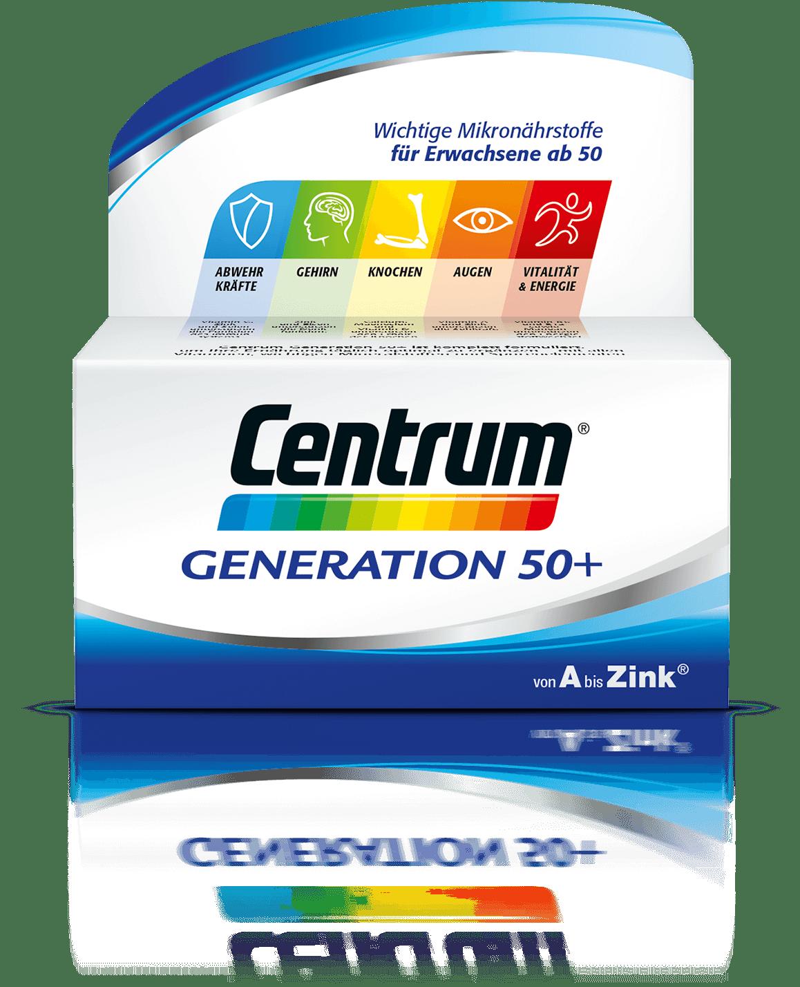 Produktabbildung von Centrum Generation 50+