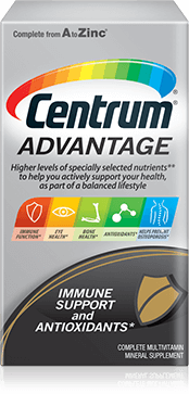 Centrum Advantage package design