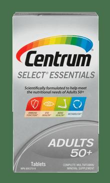Centrum  Essentials package design