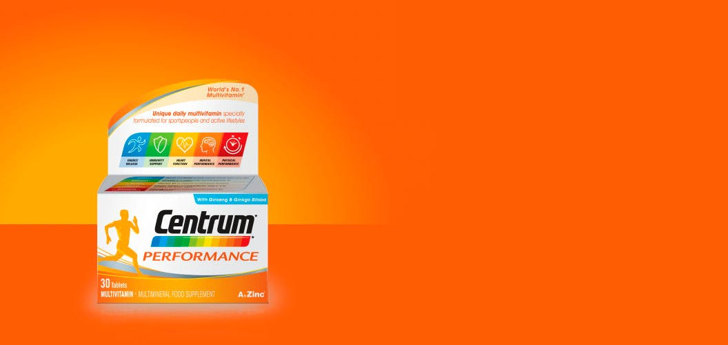 Product visual of Centrum Performance