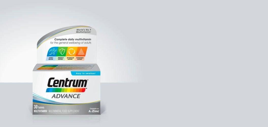 Product visual of Centrum Advance