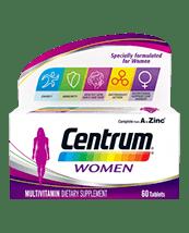 Centrum Acitve Multivitamin with Ginseng