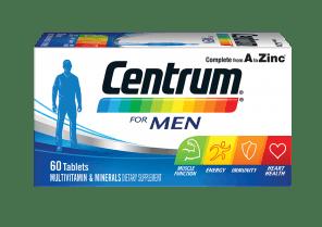 Centrum Advance for men  pack shot