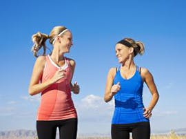 Healthy heart and women running thumbnail