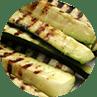 Pump up grilled zucchini