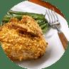 Pump up pistachio chicken