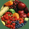 Stay healthy fruits veggies