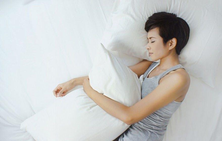 Lady_sleeping