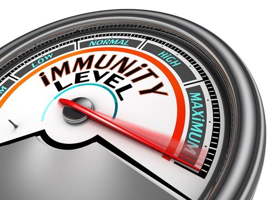 Immunity-level-meter
