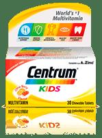 Centrum Kids Chewable Multivitamin