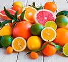 Frutas y jugos de cítricos