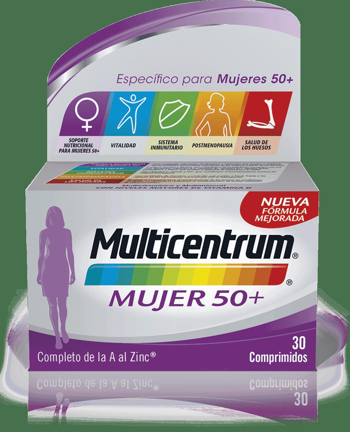 Imagen de producto de Multicentrum Mujer 50+