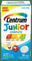 Centrum Junior Complete package design