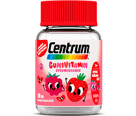 Centrum Gumivitamin gyermekeknek málna/eper ízben termékfotó