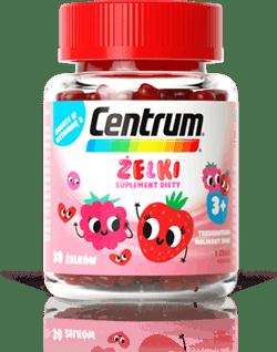 Centrum Żelki o smaku truskawkowo-malinowym