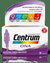 Opakowanie Centrum Ona 30 tabletek