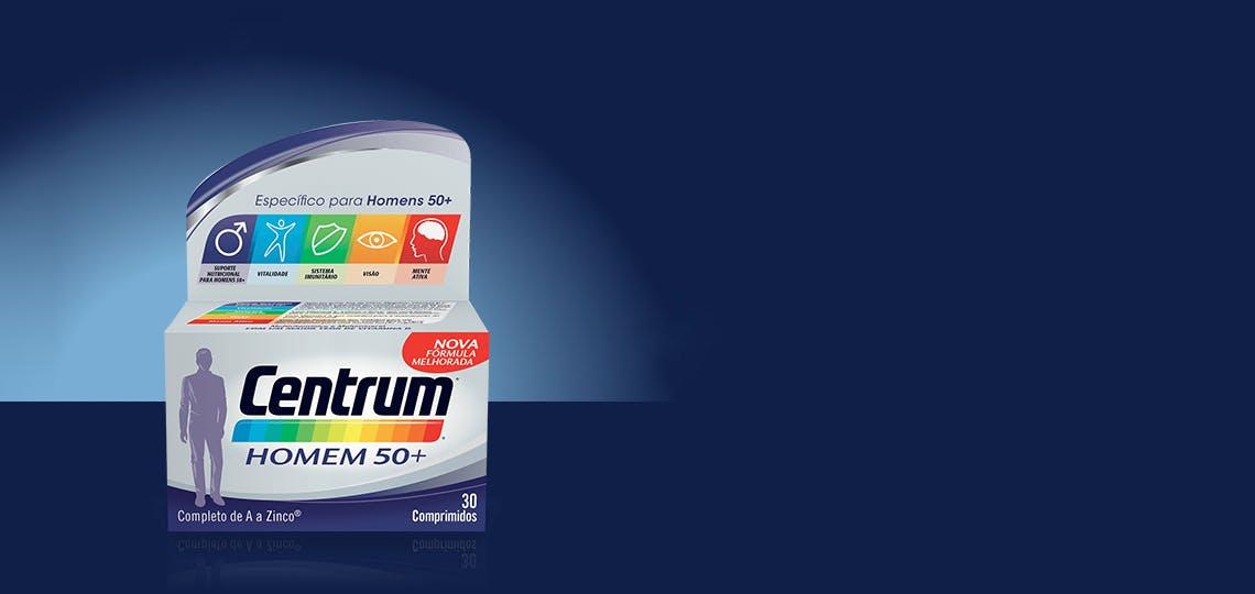 Imagem da fórmula produto Centrum Homem 50+
