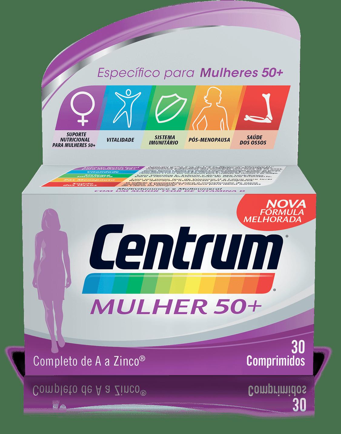Imagem da fórmula Centrum Mulher 50+