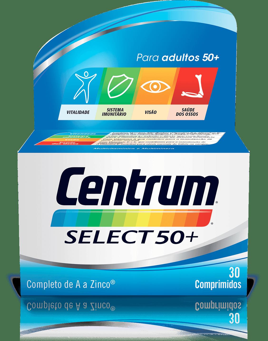 Imagem da fórmula Centrum Select 50+