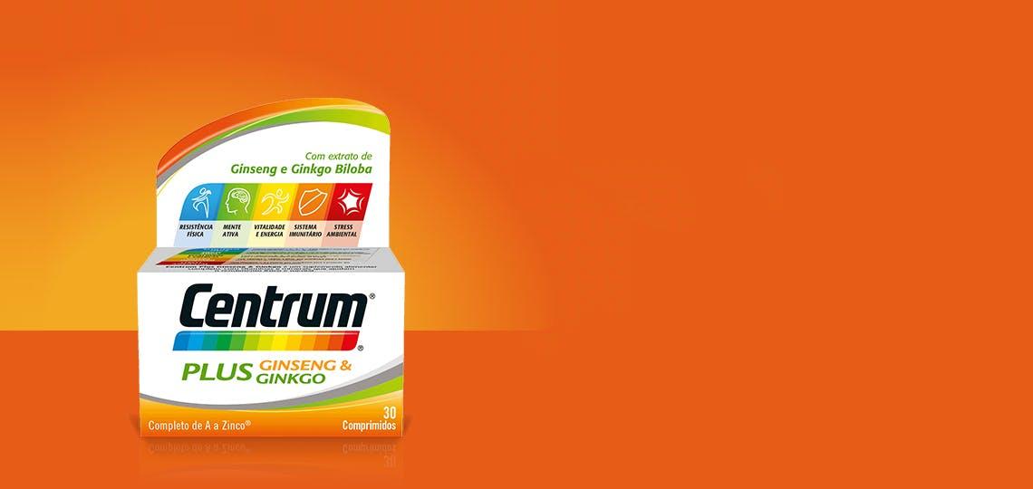 Imagem da fórmula Centrum Plus Ginseng & Ginkgo