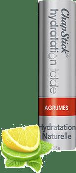 Baume pour les lèvres Hydratation naturelle Agrumes