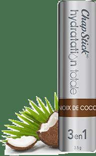 Baume pour les lèvres, soin 3 en 1 Noix de coco
