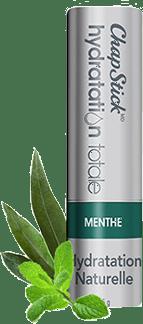Baume pour les lèvres Hydratation naturelle Menthe