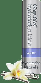 Baume pour les lèvres Hydratation naturelle Vanille