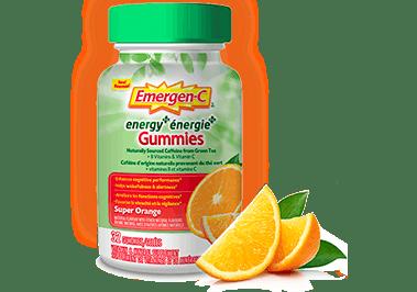 Energy Gummies Super Orange