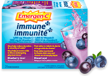 Emergen-C Immune+ Blueberry Acai