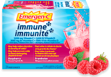 Emergen-C Immune+ Raspberry