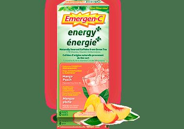 Emergen-C Energy+ Mango-Peach
