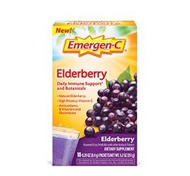 Box of Emergen-C Botanicals Elderberry