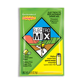 Packet of Emergen-C Hydration Electro Mix in Lemon-Lime