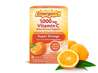 Package of Emergen-C Everyday Immune Support Super Orange