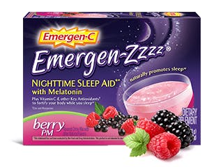 Packet of Emergen-Zzz Nighttime Sleep Aid Berry PM