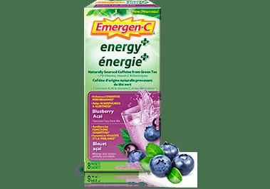 Emergen-C Energy+ Blueberry Acai