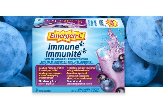 Immune Plus New AcaiBlueberry