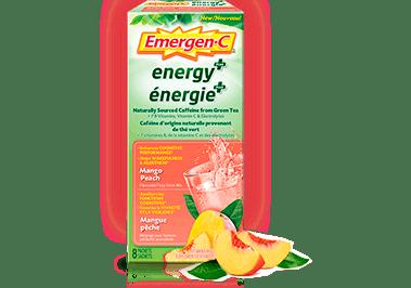 Emergen-C Énergie+ Mangue-pêche