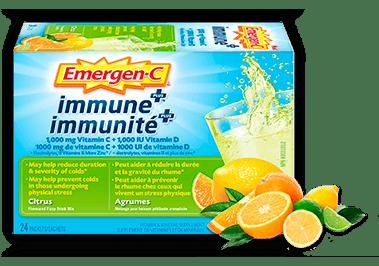 Emergen-C Immunité+ Agrumes