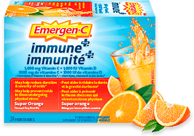 Emergen-C Immunité+ Super orange