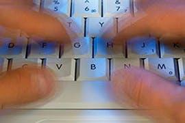 blurry keyboard