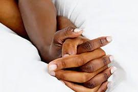 grasped hands