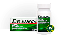 Excedrin Extra Strength pack shot