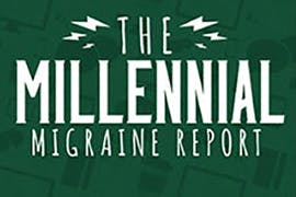 The millenial migraine report