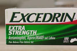 Excedrin Extra Strength caplets pack shot