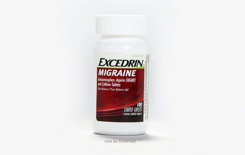 Excedrin migraine pack shot