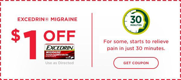Excedrin Coupon Migraine